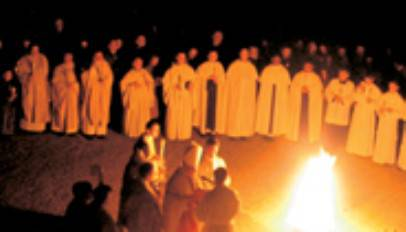 La solenne Veglia Pasquale in Basilica in diretta su Icaro Tv