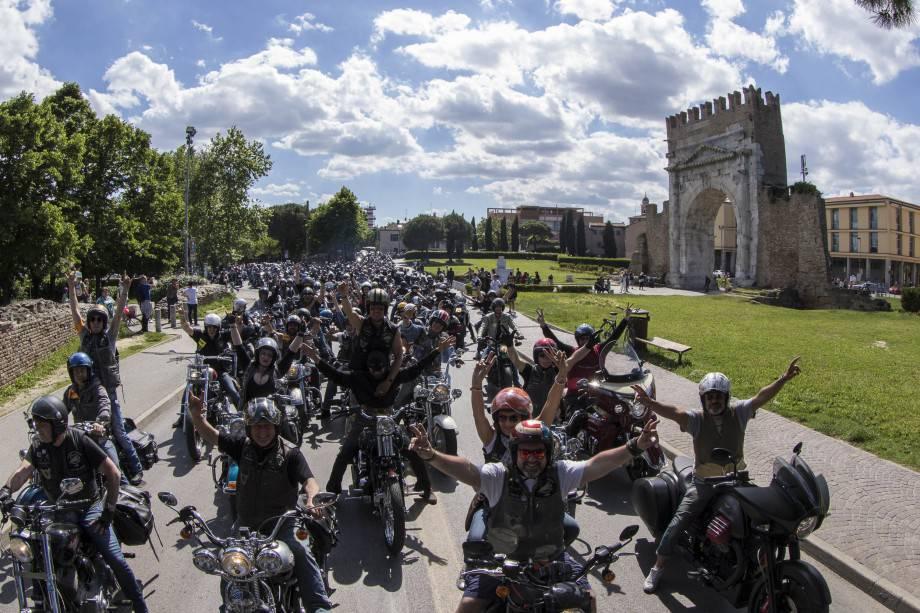 Moto e tanto altro. Le immagini della Reunion a Rimini
