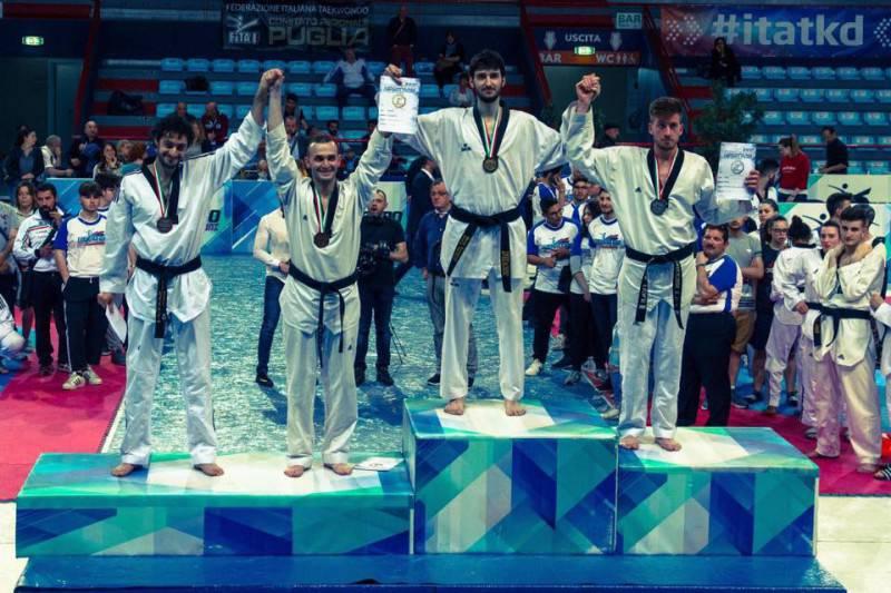 Taekwondo. Davide Evangelisti
