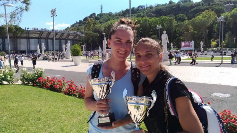 Elena Di Filippo e Sara Zaccaria