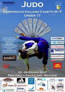 Il manifesto del Campionato Italiano Cadetti