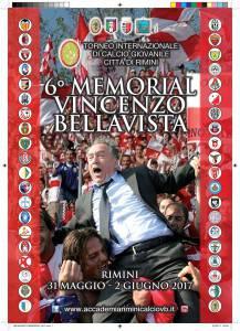 Il manifesto del sesto Memorial Vincenzo Bellavista