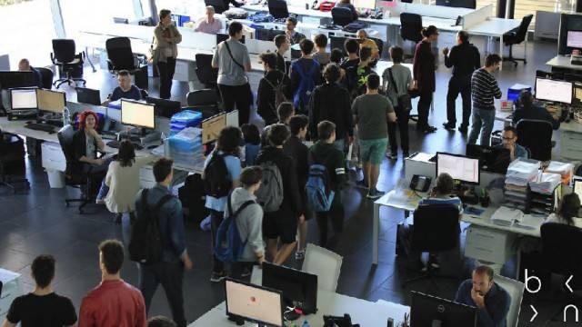 Studenti del Belluzzi-Da Vinci in visita alla Bluenext