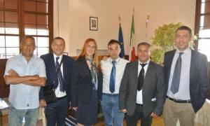 la Lisi e la delegazione