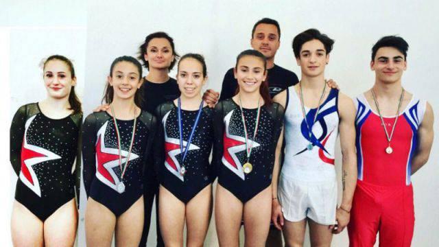 Anita Savoretti, Giada Marchionna, Elisa Palazzini e Stella Pfister