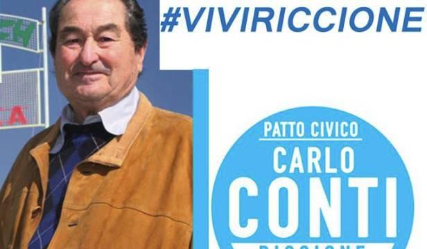 """Per Carlo Conti nuovi nomi in Patto Civico e la lista """"Riccione Viva"""""""