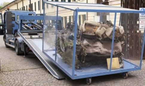 """""""Memoria in marcia"""". A Rimini i resti dell'auto di Falcone"""