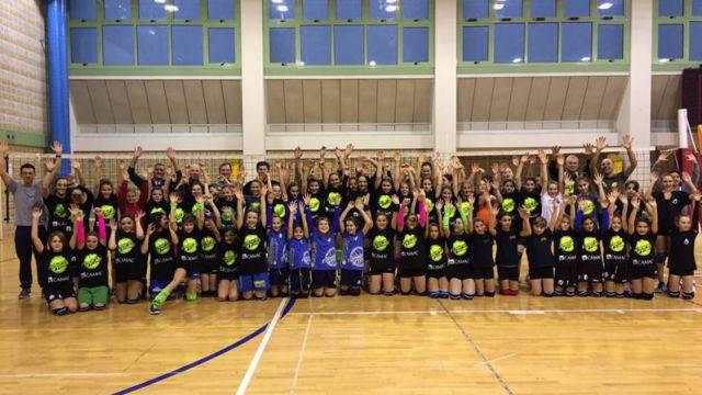 Il raduno del Romagna In Volley