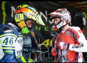 la foto postata da Rossi