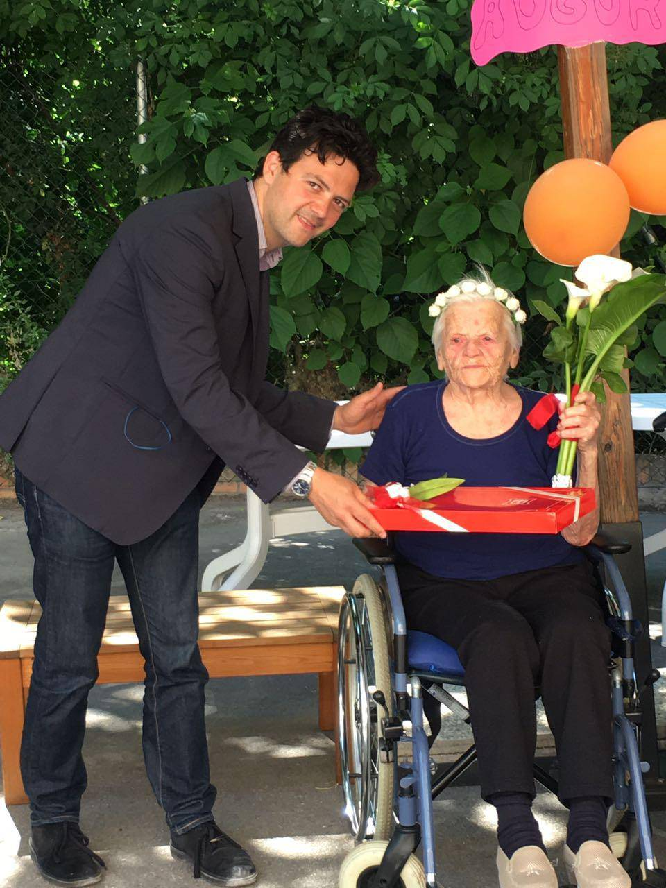 Alle Grazie la festa per i 101 anni di nonna Giovanna