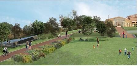 Renata Tosi rilancia il Parco Urbano degli Olivetani