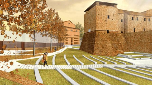 Piazza malatesta approvato il progetto per il giardino - Progetto per giardino ...