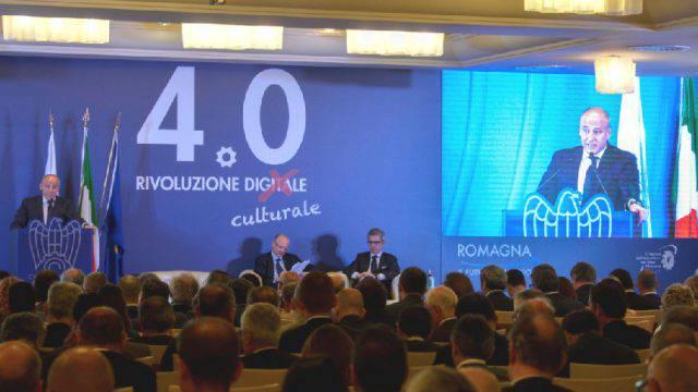 Paolo Maggioli in assemblea Confindustria