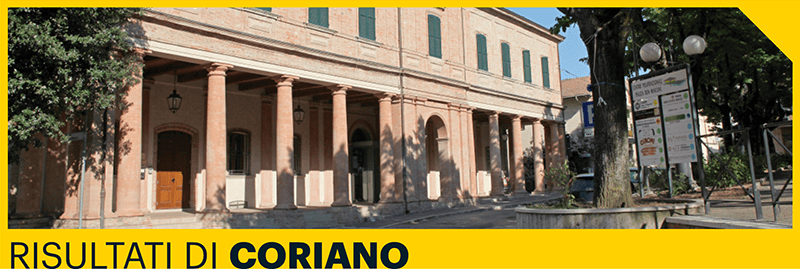 Risultati Amministrative 2017 Coriano
