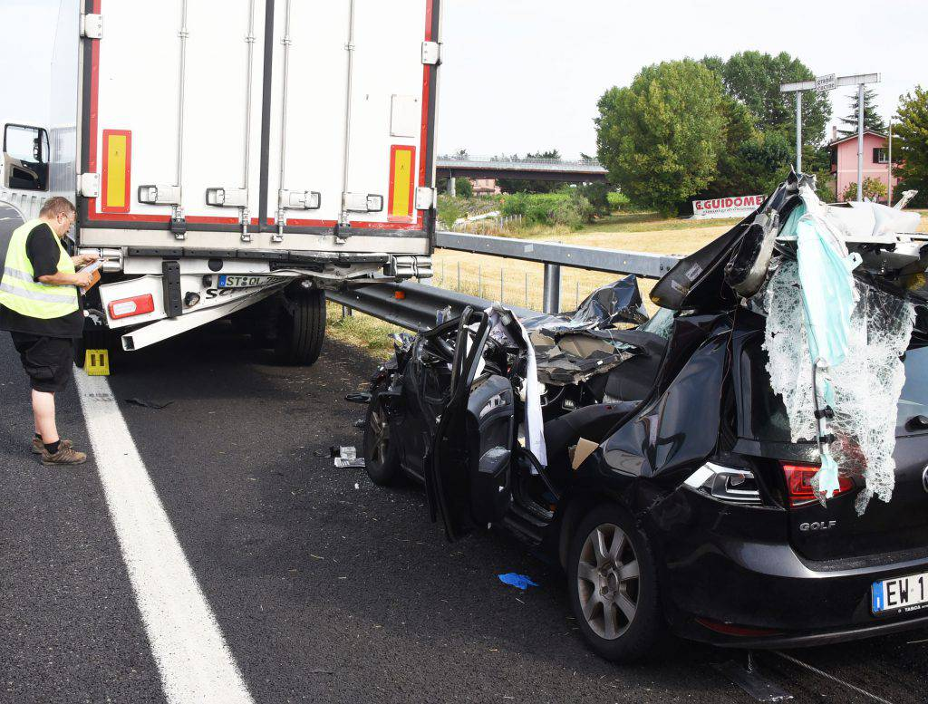 Coda in A14 a Rimini causa incidente