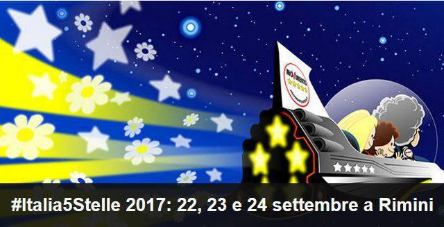 Grillo annuncia: a Rimini la manifestazione nazionale del Movimento