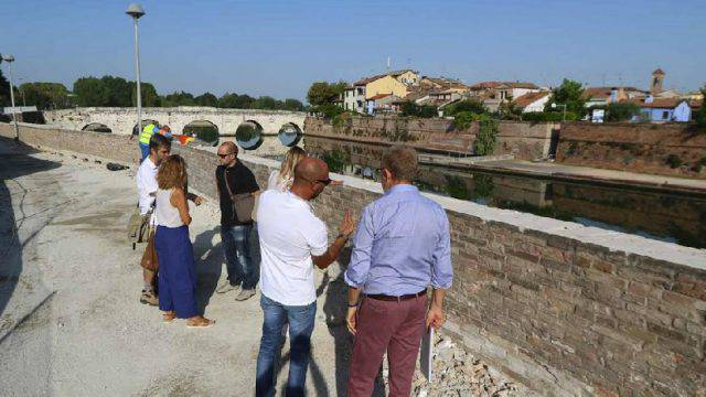 Interventi area Tiberio, l'Amministrazione risponde