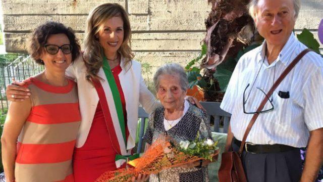 Ospedaletto festeggia i 100 anni di Linda