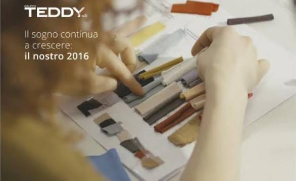 Gruppo Teddy, numeri in crescita nel 2016