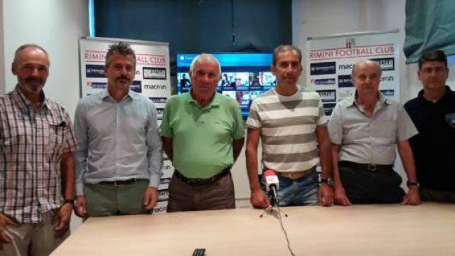 I dirigenti di Rimini FC, Sanges e Promosport
