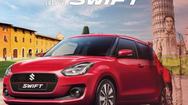 Nuova Suzuki Switf. Domenica in anteprima alla Japan Car