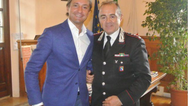 Il comandante dei Carabinieri Conio lascia Rimini. Il saluto del sindaco
