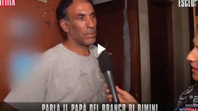 Stupri di Rimini, il padre dei due arrestati: