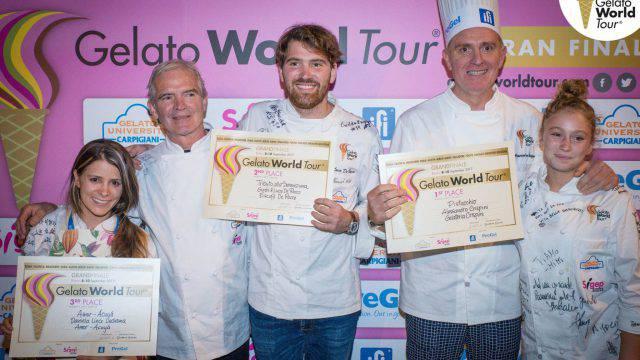 Gelato World Tour, premiato il pistacchio