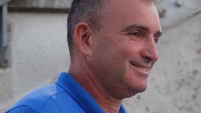 Il tecnico del Santarcangelo, Beppe Angelini