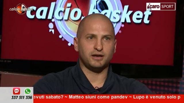 Mirco Giorgi ospite a Calcio.Basket