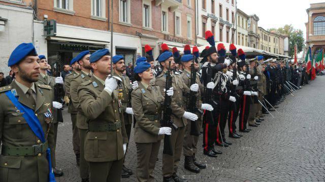 Oggi in centro storico la festa delle Forze Armate