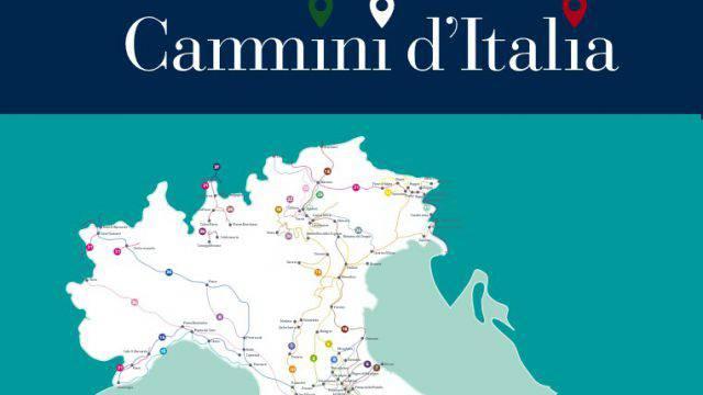 Cammini d'Italia, un quarto sono emiliano-romagnoli