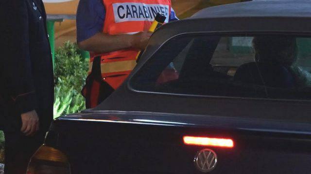 Controlli dei Carabinieri: sei denunce per guida in stato di ebbrezza