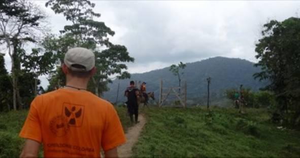 Volontari Colomba testimoni di attacco armato in Colombia