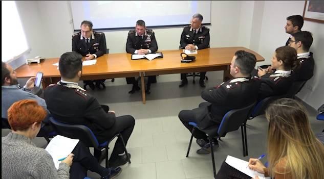 Il bilancio di fine anno dei Carabinieri: calano i delitti, soprattutto i furti