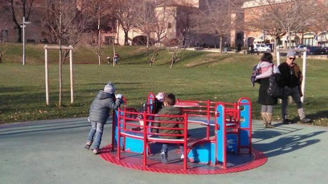 A Santarcangelo sistemato il parco inclusivo, lavori al Francolini