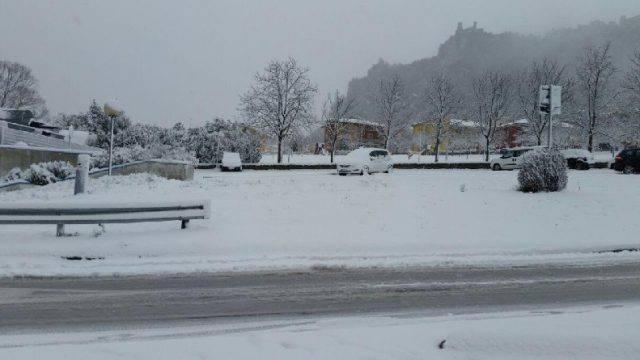Un assaggio di inverno sulla Romagna