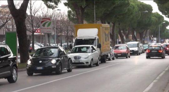 Il vento ripulisce l'aria a Rimini