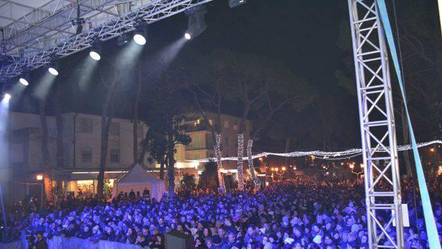 Le immagini del Capodanno a Riccione