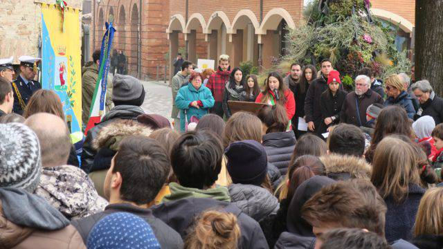 Giorno della Memoria a Santarcangelo. Il sindaco nel ricordo di Molari