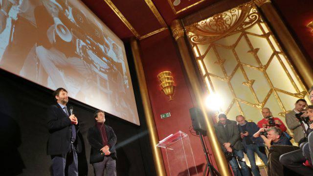 Inaugurazione del Fulgor, immagini e interviste a Ferretti, Rubini e la nipote Francesca