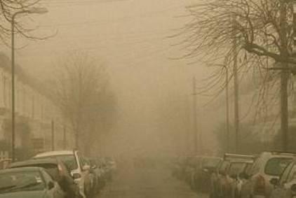 Allarme smog: