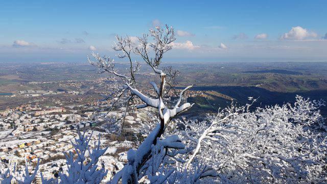 Allerta Gialla per neve in Liguria