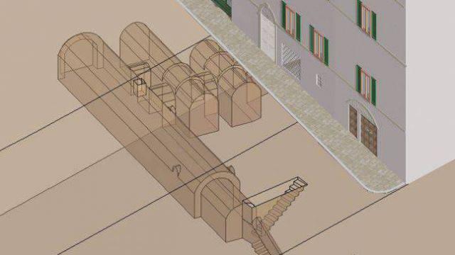 Accesso alle grotte di piazza Balacchi, approvato il progetto preliminare