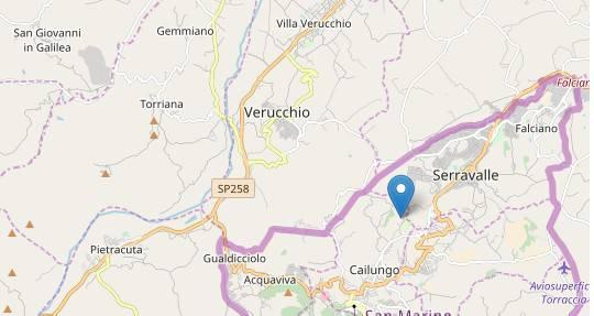 Lieve scossa di terremoto con epicentro a San Marino