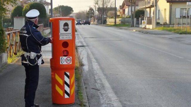 Autovelox a Riccione e Misano, il calendario 1-3 marzo