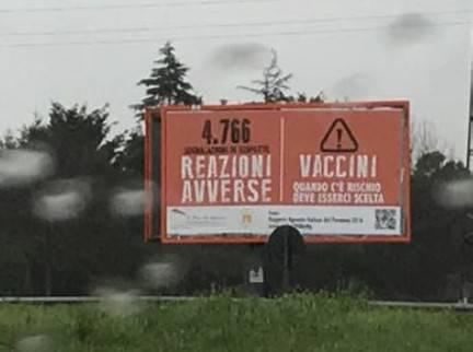 Messaggi su rischi da vaccino. Le precisazioni di