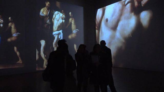 """Un'immersione dentro l'arte. Alla Sala dell'Arengo """"Caravaggio experience"""""""