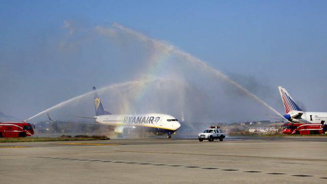 Aeroporto dell'Umbria, al via domani il volo Perugia-Francoforte