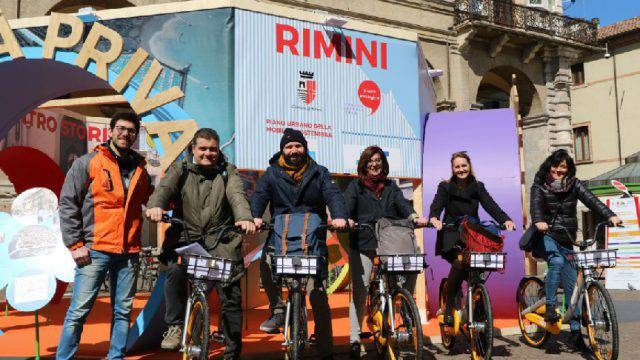 A Rimini il bike sharing riparte dal free-floating